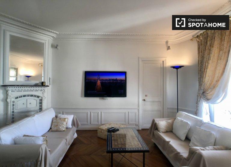 Apartamento de 2 quartos para alugar no 17º arrondissement, Paris