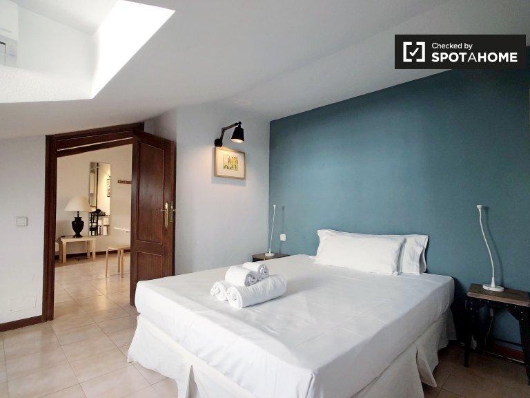 Apartamento de 1 quarto para alugar em Madrid Centro