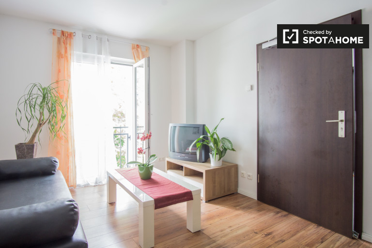 Inviting 1-bedroom apartment for rent in Pankow