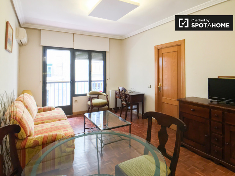 1-bedroom apartment with balcony for rent in Centro, Madrid