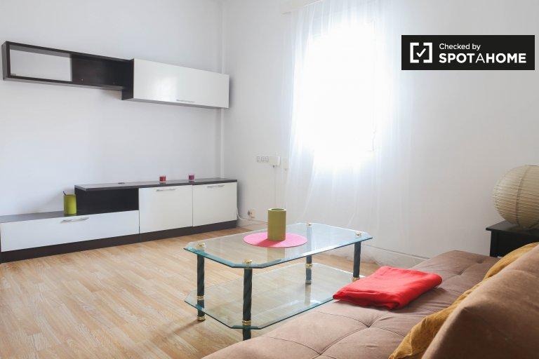 Helle 2-Zimmer-Wohnung zur Miete in L'Olivereta, Valencia