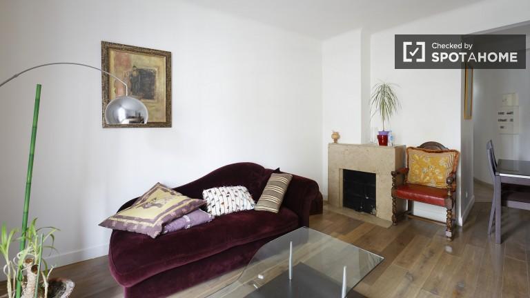 Ampio appartamento con 1 camera da letto in affitto a Observatoire, Parigi 14