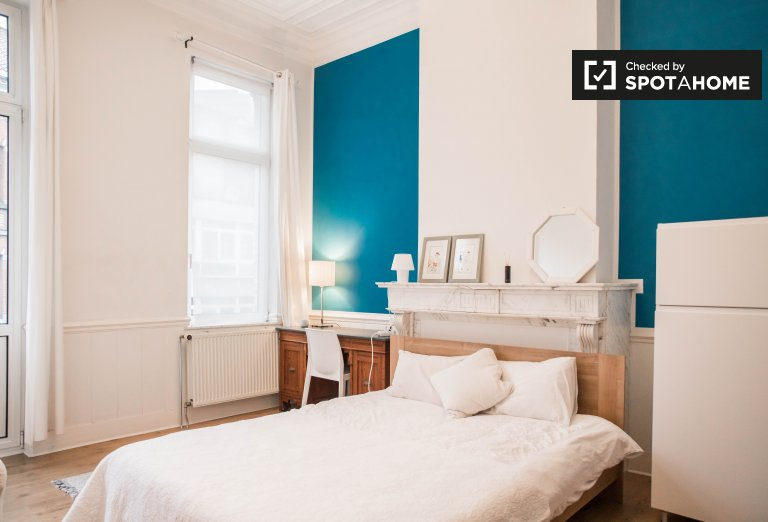 Camera in affitto in casa condivisa a Molenbeek, Bruxelles