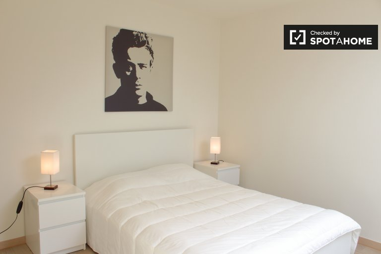 Spacious room in 3-bedroom apartment in Center, Brussels