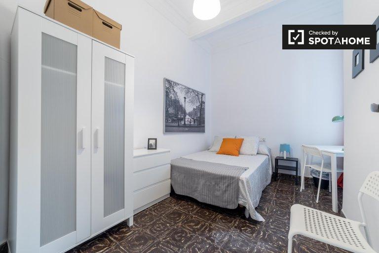 Habitación amueblada en alquiler, apartamento, Extramurs, Valencia