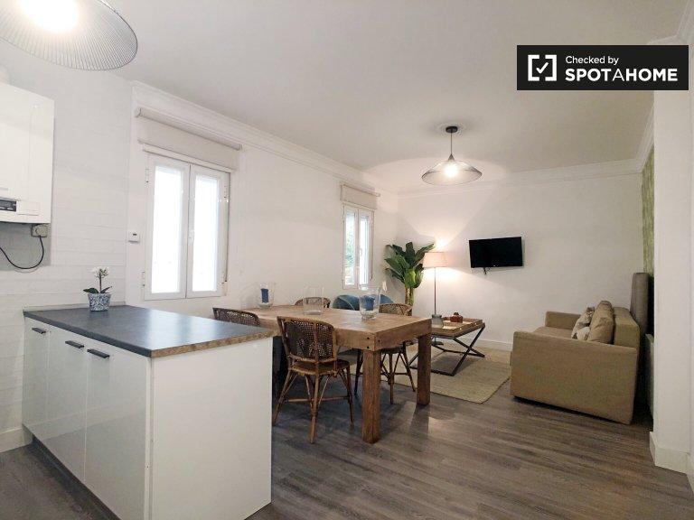Apartamento de 2 quartos para alugar em Almagro & Trafalgar, Madrid