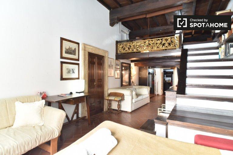 Studio-Wohnung zur Miete in Centro Storico, Rom