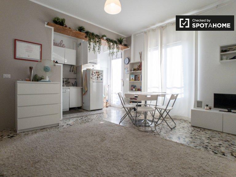 Apartamento de estúdio para alugar em Morivione, Milão