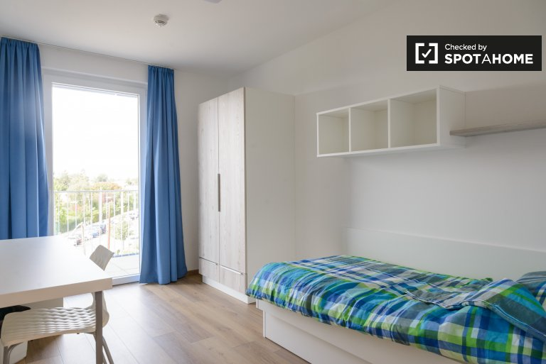 Equipped room in 2-bedroom apartment in Donaustadt, Vienna