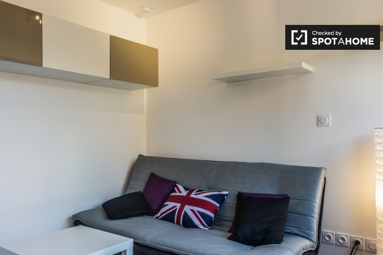 Studio apartment for rent in Villeurbanne, Lyon