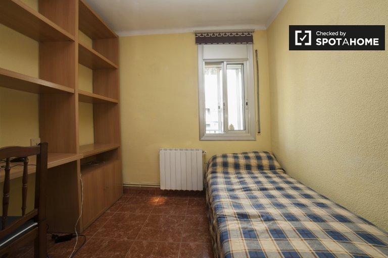 Habitación exterior, apartamento, Hospitalet de Llobregat, Barcelona.