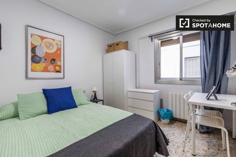 Preciosa habitación en alquiler en Patraix, Valencia.