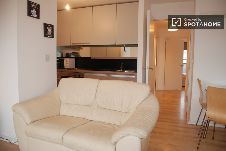 Large 2 Bedroom Apartment with Balcony, Parking and Gym in Ashtown