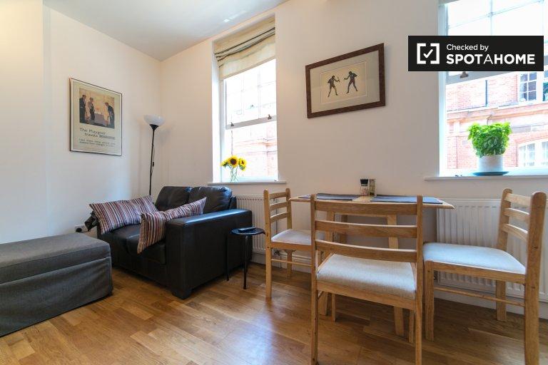 Jasne 2-pokojowe mieszkanie do wynajęcia w Camden w Londynie