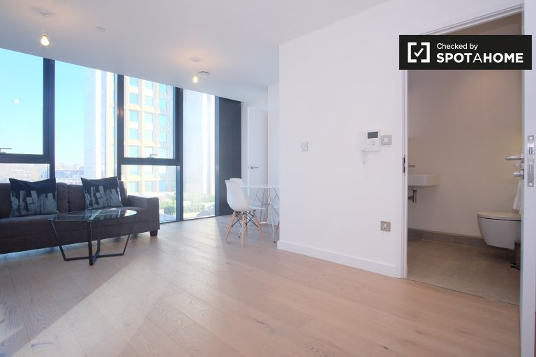 Modern 1-bedroom apartment to rent in Archway, London