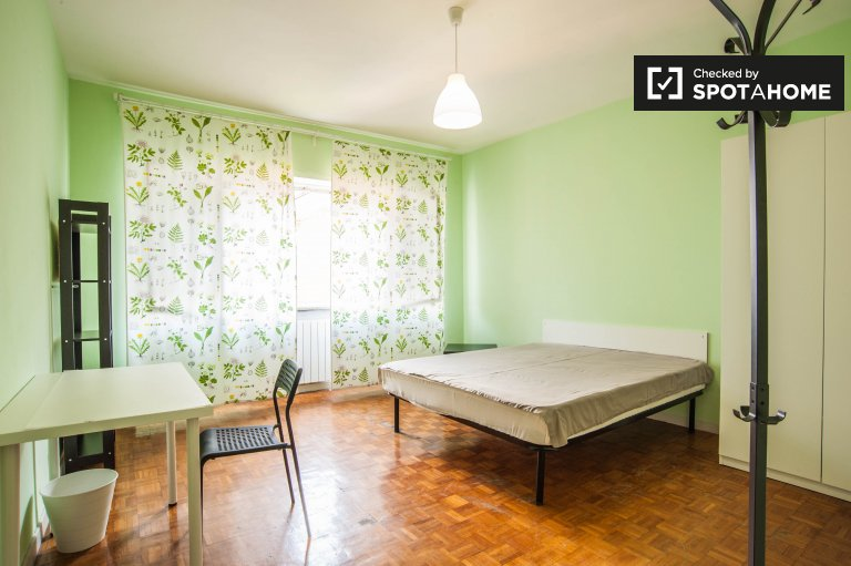 Large room in 2-bedroom apartment in Garbatella