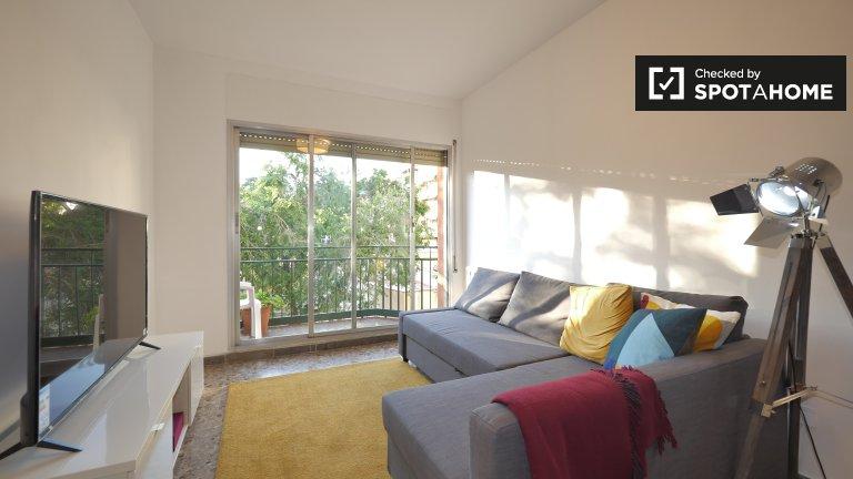 Bright 1-bedroom apartment for rent in Sarrià-Sant Gervasi