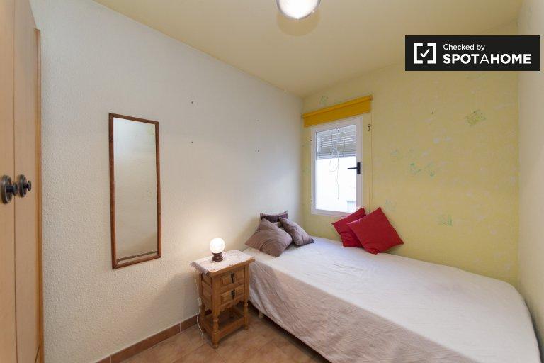 Chambre meublée dans un appartement de 2 chambres à Moratalaz, Madrid