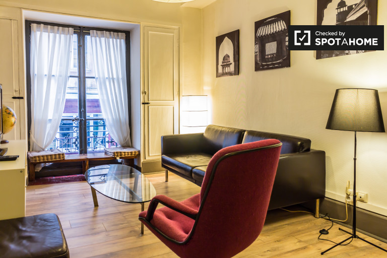 Stylish 2-bedroom apartment for rent in Opera, Lyon