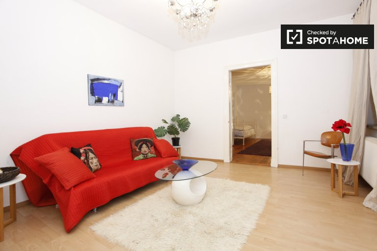 Spacious 3-bedroom apartment for rent in Mitte