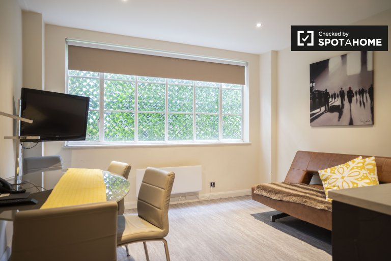 Modern 2-bedroom apartment to rent in Kensington, London