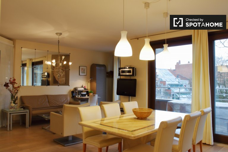 Stylish 1-bedroom apartment for rent in Etterbeek, Brussels