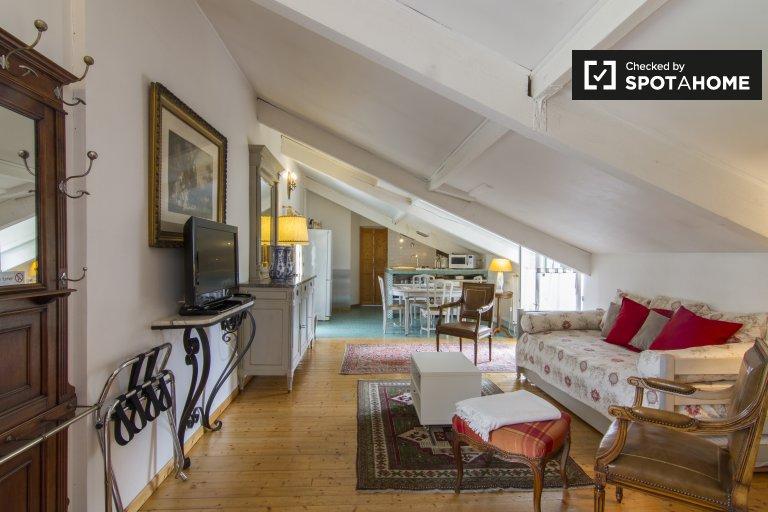 Apartamento de 1 dormitorio en alquiler en Maison Lafitte, París