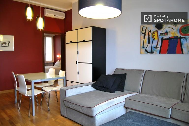 Apartamento exterior para alugar em Porta Nuova, Milão