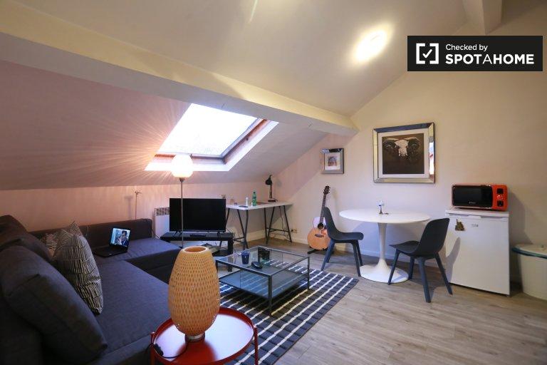 apartamento de 1 dormitorio en alquiler en Bruselas Centro de la ciudad