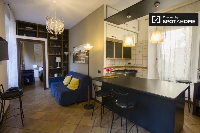 Appartement simple avec 1 lit à louer à Centro Storico, Rome