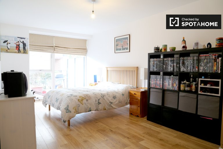 Double Bed in Spacious, attractive room for rent in 3-bedroom house in Leopardstown, Dublin