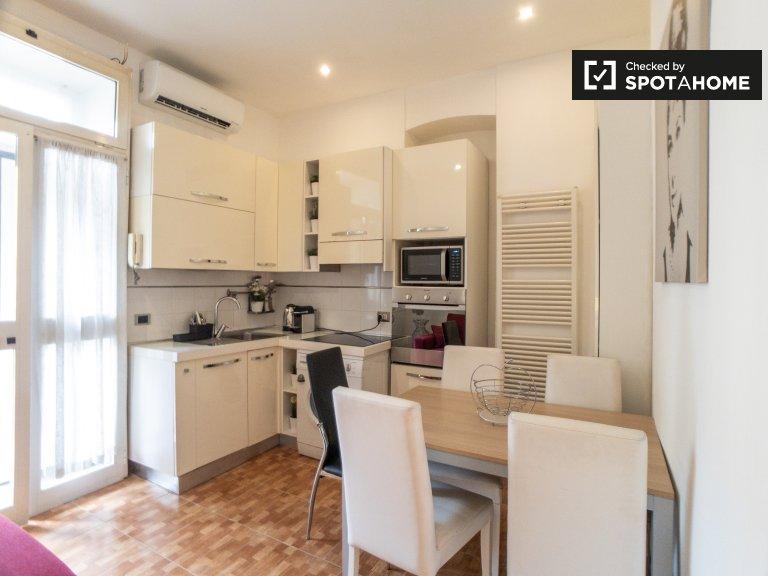 apartamento de 1 dormitorio en alquiler en Loreto, Milán