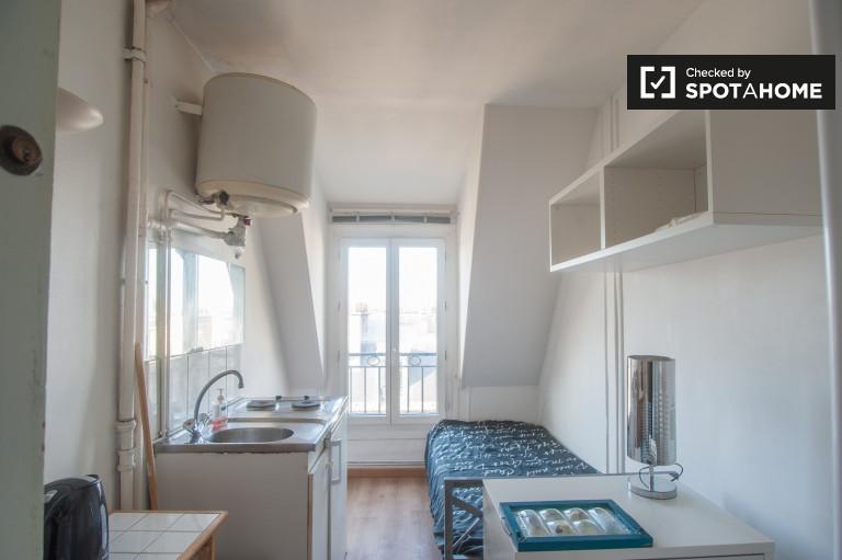 Bright Studio Apartment For Rent In Vaugirard Paris Spotahome