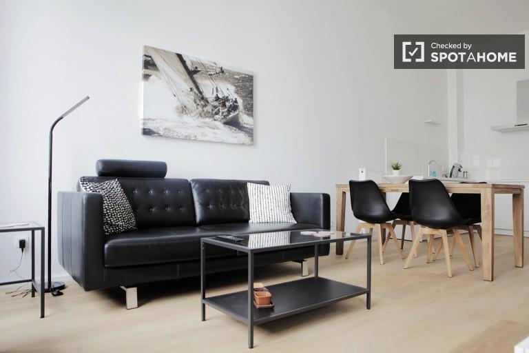 Stilvolle 1-Zimmer-Wohnung zur Miete in Brüssel Stadtzentrum