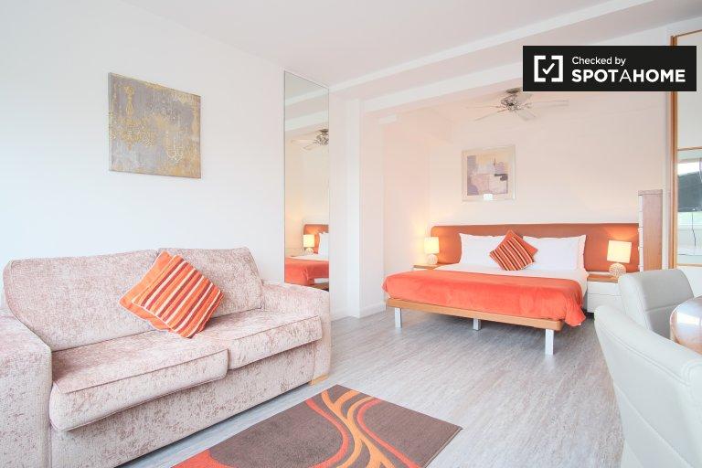 Anspruchsvolle Studio-Wohnung zur Miete in Kensington, London