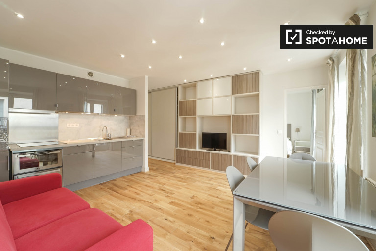 Modern 1-bedroom apartment for rent in the 9th arrondissement