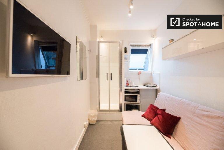 Practical Studio Apartment For Rent Near Paris Dauphine University In 16th  Arrondissement