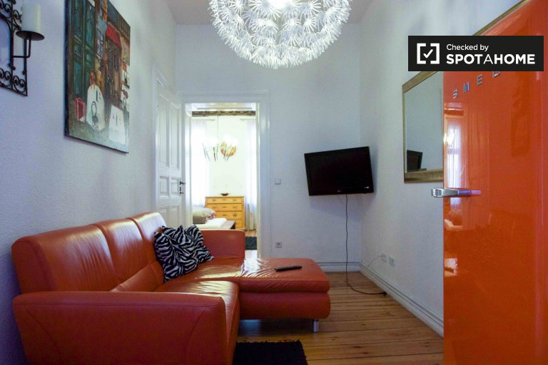 Stylish 1-bedroom apartment for rent in Wedding, near S-Bahn
