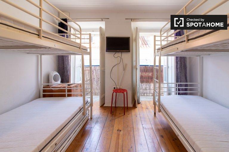 1-pokojowe mieszkanie do wynajęcia w Bairro Alto, Lizbona