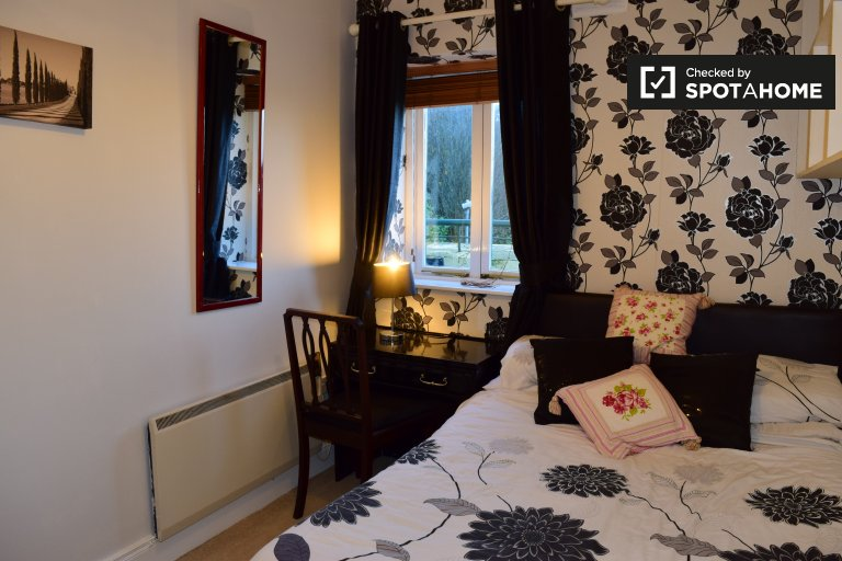 Double Bed in Room for rent in cosy 2-bedroom apartment in Kilmainham