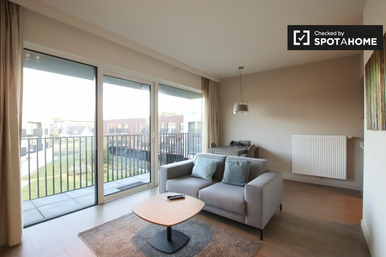Stylish 1-bedroom apartment for rent in Machelen, Brussels