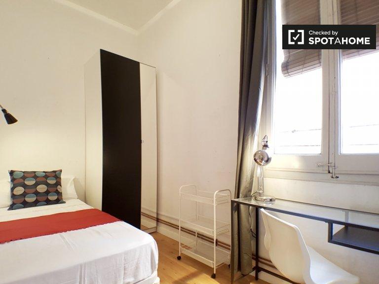 Charmantes Zimmer zur Miete in Gràcia, Barcelona