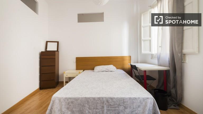 Salamanca, Madrid'de 5 yatak odalı daire içinde döşenmiş oda.