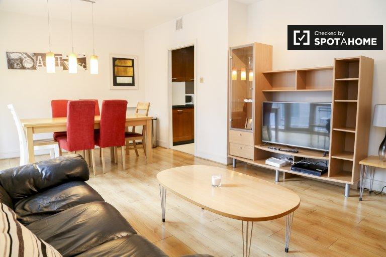 Apartamento de 2 quartos para alugar em Ballsbridge em Dublin