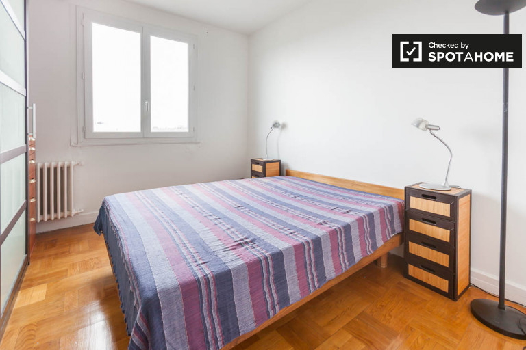 Apartamento de 1 quarto para alugar em Boulogne Jean Jaurès, Paris