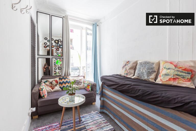 Luminous pokój w mieszkaniu w Arrondissement 18, Paryż