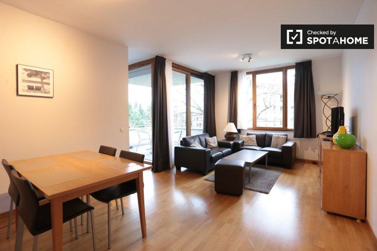 2-pokojowe mieszkanie do wynajęcia w Watermael Boisfort, Bruksela