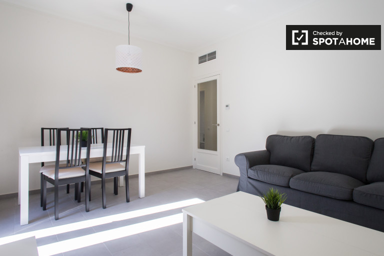 Modern 3-bedroom apartment for rent in Gótico, Barcelona