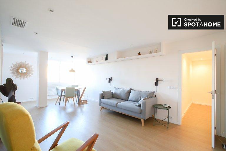 Apartamento de 1 quarto para alugar em Algirós