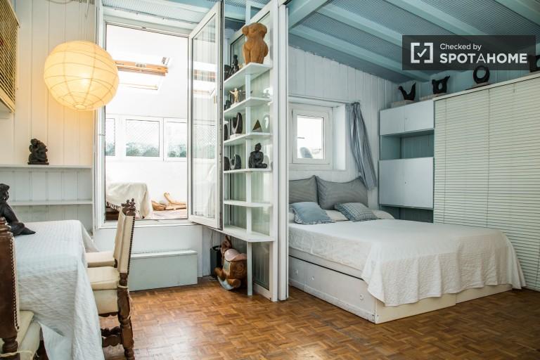 Helle 1 Zimmer Wohnung in Gracia - Barcelona